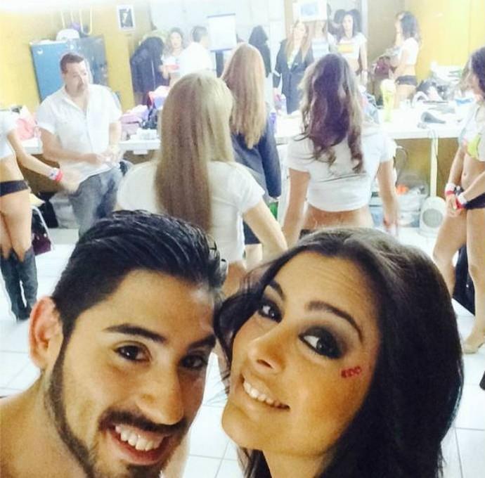 Larissa Riquelme antes de apresentação de dança (Foto: Reprodução Instagram)
