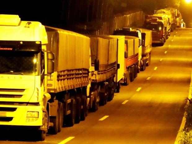 Não há previsão de bloqueio da rodovia (Foto: Ederson Abi/Portal Peperi)
