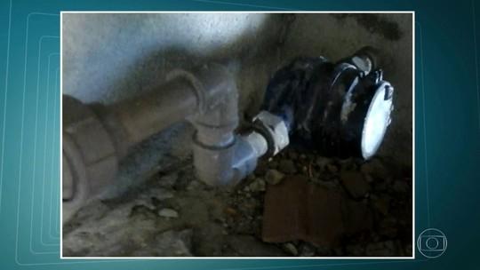 Moradores reclamam de falta d'água em vários pontos da cidade