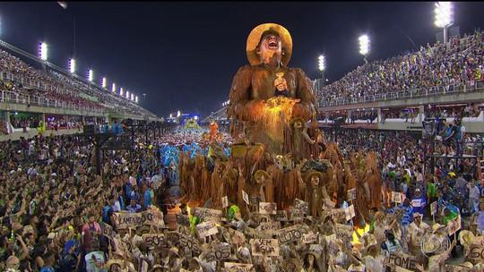 Portela é a campeã do carnaval 2017 do Rio após 33 anos de jejum