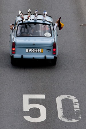 Trabant na estrada (Foto: Getty Images)