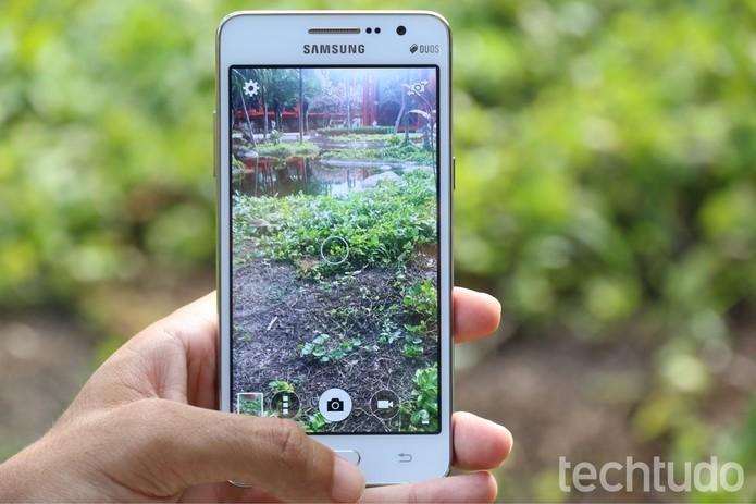 Galaxy Gran Prime e LG Prime possuem câmera frontal de 5 MP (Foto: Galaxy Gran Prime e LG Prime possuem câmera frontal de 5 MP)