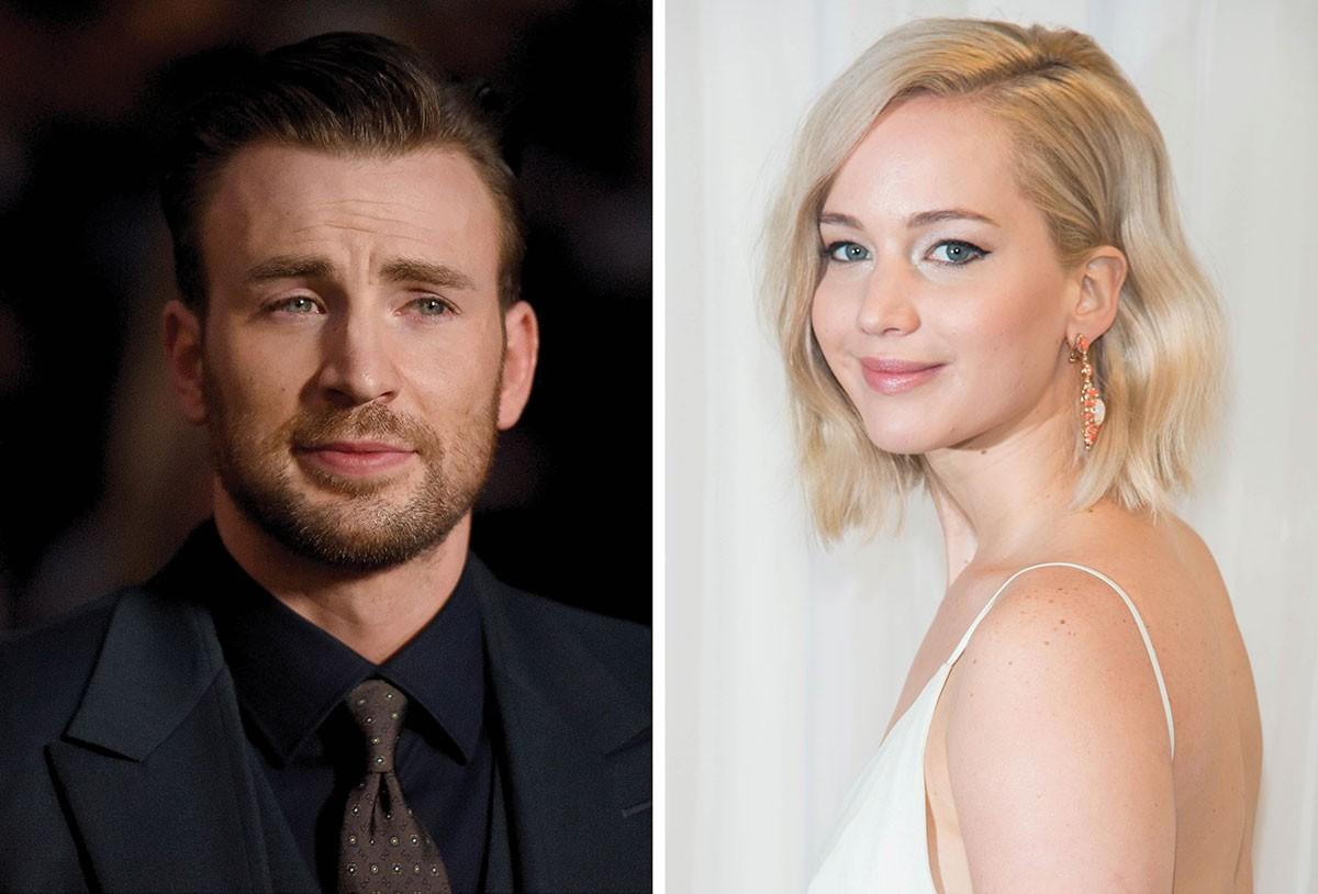 jennifer lawrence dating chris evans Chris evans as captain america [image via marvel] with those claims, it seemed that lawrence and evans were on track to be hollywood's hottest new couple, but as e news reports, lawrence and evans aren't happening.