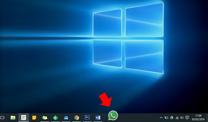 Se desejar, pode criar um atalho na barra do Windows (Foto: Reprodução/Paulo Alves)