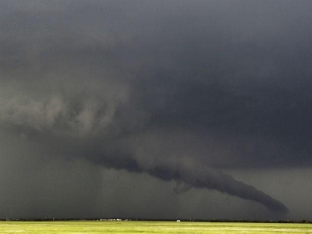 Tornado Kansas, EUA (Foto: Gene Blevins/Reuters)