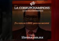 Campeonato no México elege o político mais corrupto do país