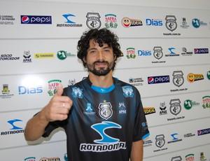 Cristian, meia do Treze (Foto: Silas Batista / Globoesporte.com/pb)