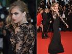 Famosas apostam em vestidos com transparências na abertura do Festival de Cannes 2013