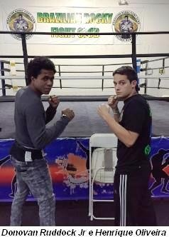 Henrique Oliveira e Donavam Ruddock Jr