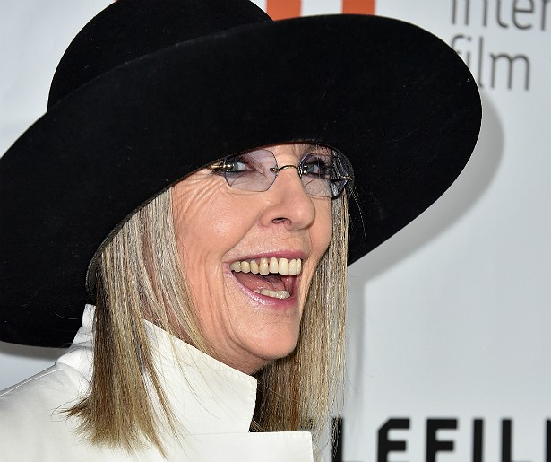 DIANE KEATON, atriz — Se declarou ateia em uma entrevista em 2002. (Foto: Getty Images)