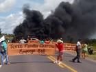 Manifestantes liberam a rodovia BR-010 após horas de bloqueio
