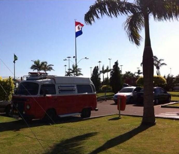 Família já viajou na Kombi até o Paraguai (Foto: Arquivo pessoal)