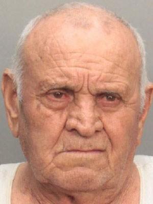 Bartolo Gelsomino, de 78 anos, foi preso por matar sua mulher  (Foto: Miami-Dade Department of Corrections )