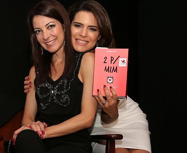 Ana Paula Padrao e Natalia Leite (Foto: Marcello Sá Barretto e Alex Palarea / AgNews)