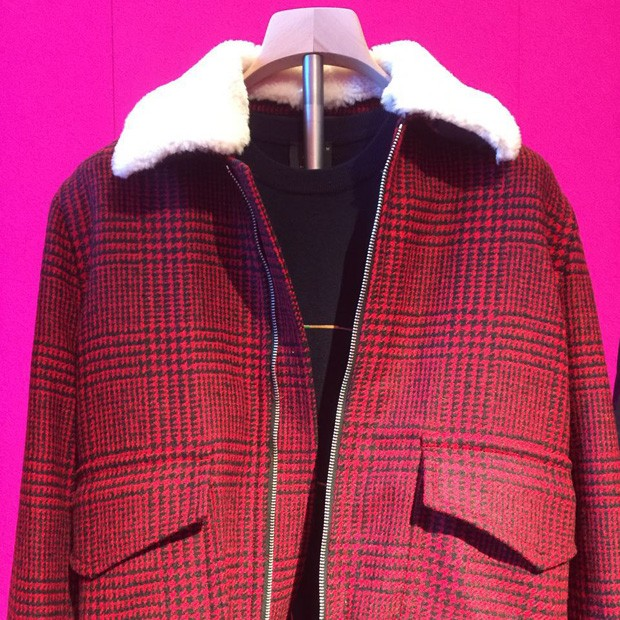 Paul Smith também aposta no tartan (Foto: Fabrizio Rollo)