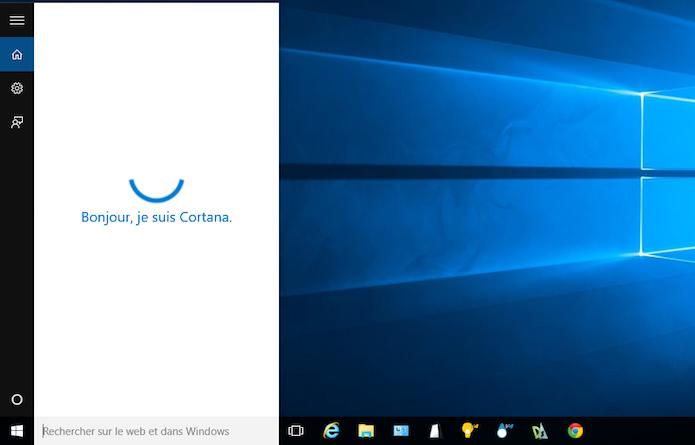 Veja como ativar a Cortana em francês (Foto: Reprodução/Helito Bijora)