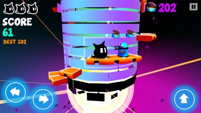 Desvie dos obstáculos e evite cair nesse divertido jogo casual para iPhone e iPad (Foto: Divulgação)