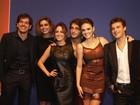 Na festa de 'Sangue bom', Dennis Carvalho se orgulha de elenco jovem