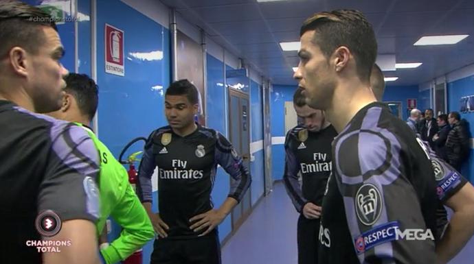 """BLOG: TV flagra CR7 no intervalo de duelo contra o Napoli: """"Não sabemos nos defender"""""""