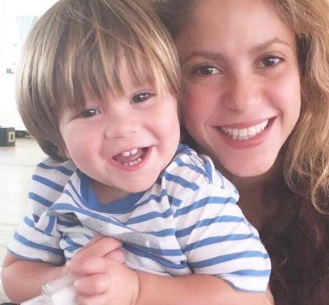 Shakira e Sasha (Foto: Reprodução/Instagram)