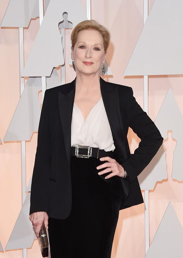Evolução de estilo da Meryl Streep (Foto: Getty)