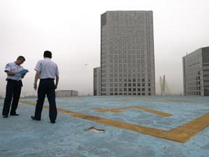 Heliponto em prédio na Zona Sul de São Paulo (Foto: Arquivo, Robson Fernandes/AE - 28/10/2008)