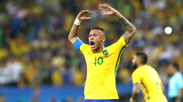 652dc9011a Brasil x Alemanha - Jogos Olímpicos - Futebol masculino 2016-2016 ...
