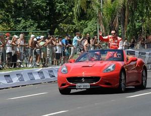 Felipe Massa evento rio de janeiro (Foto: Fabio Teixeira/Agência Estado)