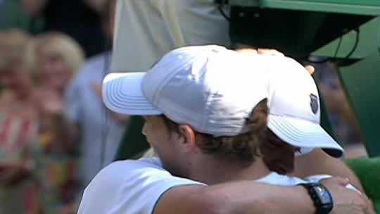 Decepção, 1ª vez, separação e título em Wimbledon: a consagração de Melo