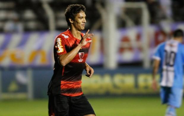 Bruno nunes gol Oeste x Paysandu (Foto: José Luis Silva / Ag. Estado)