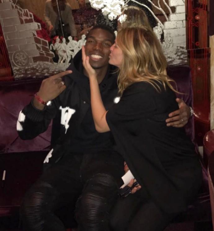 """BLOG: Pogba ganha beijinho de Julia Roberts e tira onda: """"Quem é o sortudo agora?"""""""