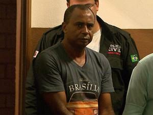 Matusalém Ferreira Júnior, suspeito de matar jovem e bebês gêmeos  (Foto: Valdinei Malaguti/EPTV)