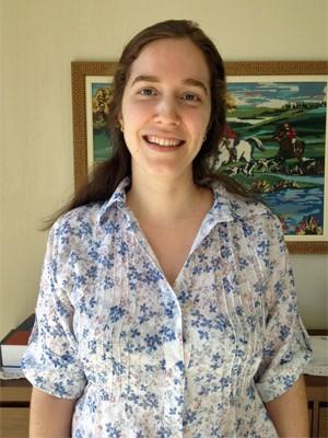 Claudia Alves, de 30 anos, é formada em biomedicina (Foto: Ana Carolina Moreno/G1)
