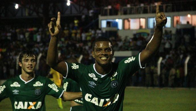 Bruno Rangel Chapecoense x Interporto (Foto: Cleberson Silva/Chapecoense)