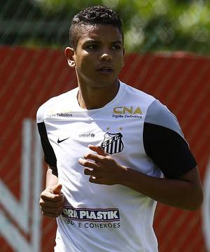 David Braz Santos (Foto: Ricardo Saibun / Divulgação Santos FC)