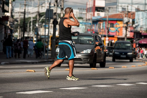 Marechal Tito, avenida de SP mais letal para pedestres (Foto: Marcelo Brandt/G1)