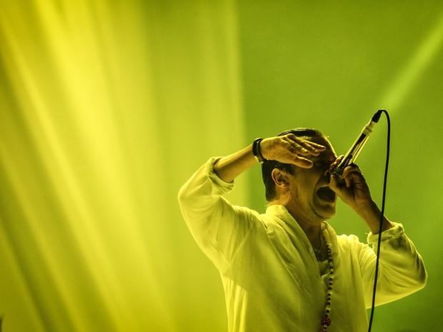 Faith no More toca no Palco Mundo nesta sexta (25) (Foto: Fabio Tito/G1)