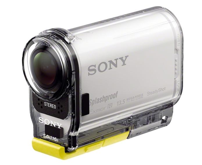 HDR-AS100V possui sincronização via WI-FI (Foto: Divulgação/Sony) (Foto: HDR-AS100V possui sincronização via WI-FI (Foto: Divulgação/Sony))