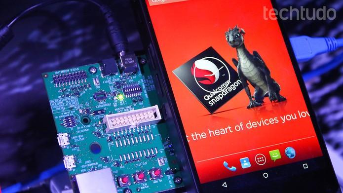 Snapdragon 820: modem promete velocidades surpreendentes (Foto: Fabrício Vitorino / TechTudo)