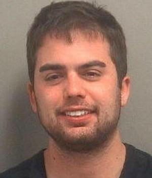 Alex Fanaian tentou invadir residência nu usando extintor de incêndio (Foto: Divulgação/Palm Beach County Jail)