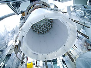 Equipamento usa xenônio líquido resfriado (Foto: Reprodução/Flickr/luxdarkmatter/C.H. Faham)
