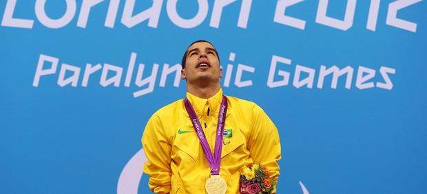 Daniel Dias natação ouro Paralimpíadas (Foto: Getty Images)