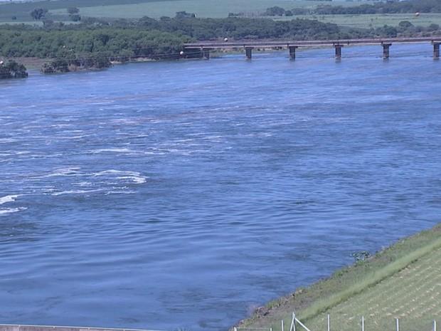 Trecho do noroeste paulista da hidrovia será liberado (Foto: Reprodução/TV TEM)