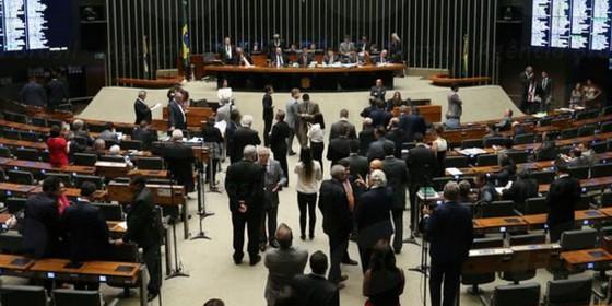 Sessão na Câmara dos Deputados na segunda-feira, 19 de setembro (Foto: Fabio Rodrigues Pozzebom/Agência Brasil)