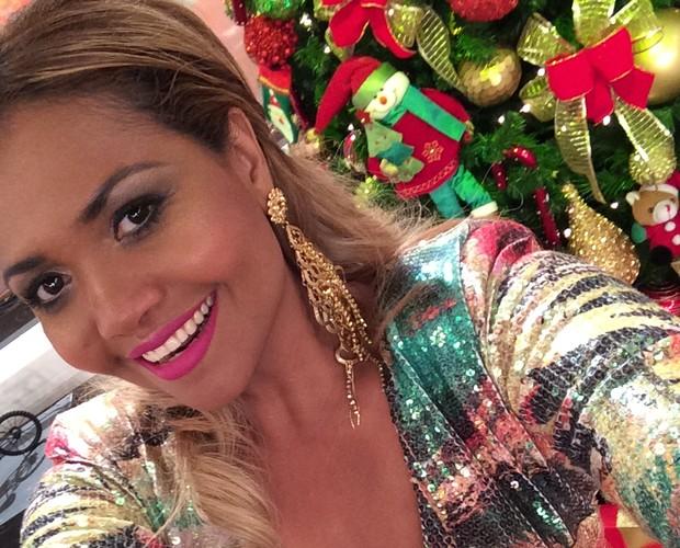 Gaby Amarantos declara torcida para Carol Castro (Foto: The Voice Brasil/Gshow)