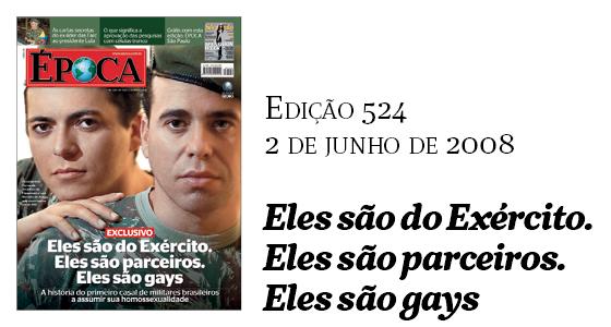 Capas Época - Gays (Foto: Época)