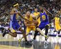Warriors batem Lakers em duelo californiano na preparação para NBA