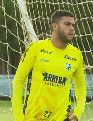 Wellington Rato diz estar focado no Mineiro, mas já pensa na Série D do Brasileiro (Foto: Reprodução EPTV/Michel Diogo)