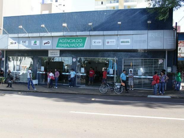 Atendimento na Agência do Trabalhador de Cascavel volta ao normal na segunda-feira (Foto: Prefeitura de Cascavel/ Divulgação)