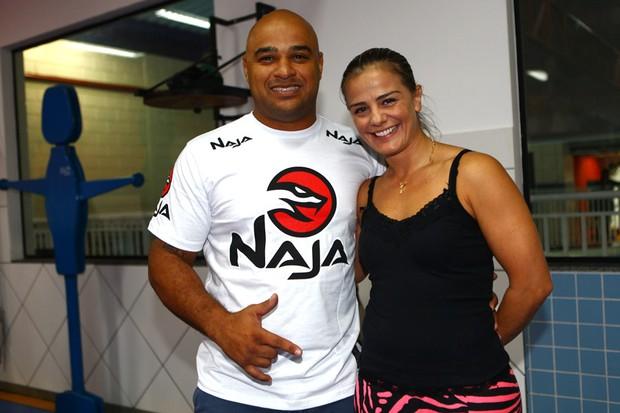 Milene Domingues e Rubens Lopes (Foto: Iwi Onodera / EGO)